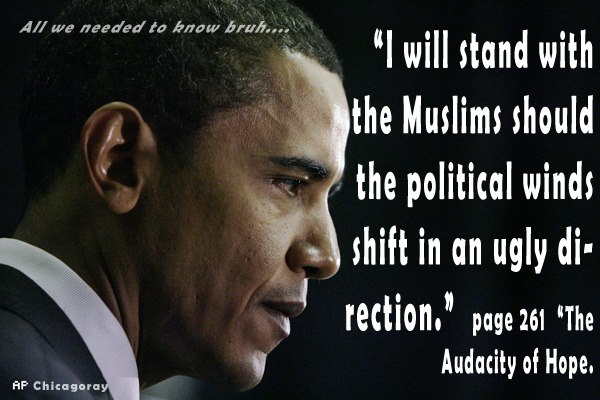 Obama I ll side with the Muslims