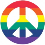Gay Peace Sign