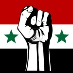 Syrian Flag Fist