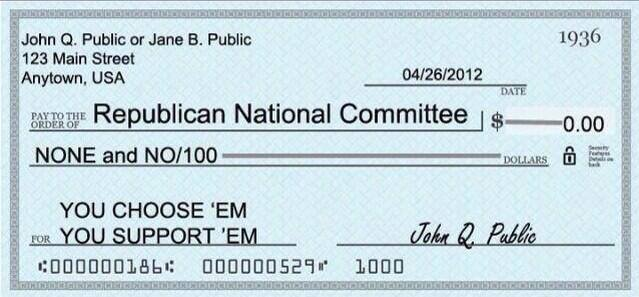 Check to RNC