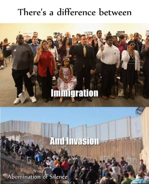 Immigration vs Invasion
