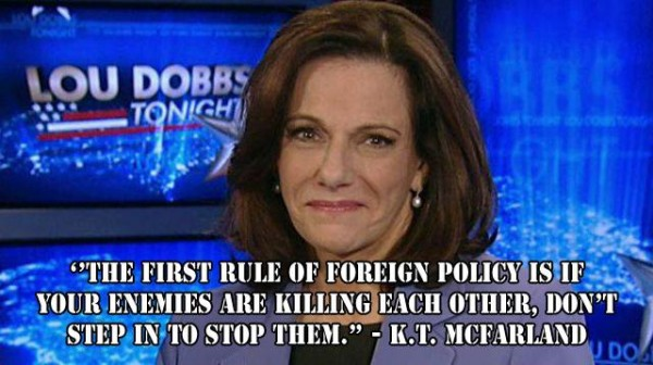 1st Rule of foreign policy