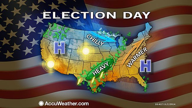 Election Day weather