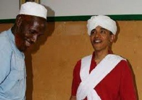 Obama in Arab Garb
