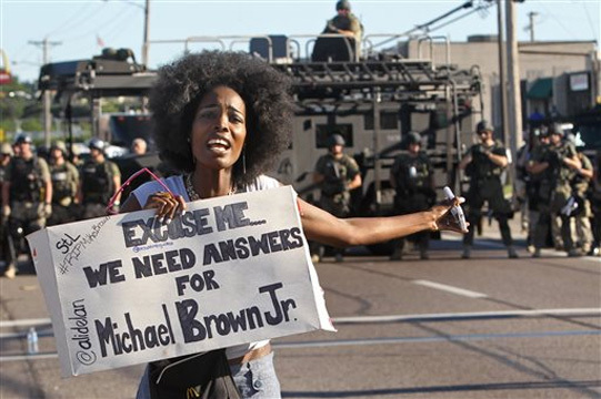 Answers for Michael Brown